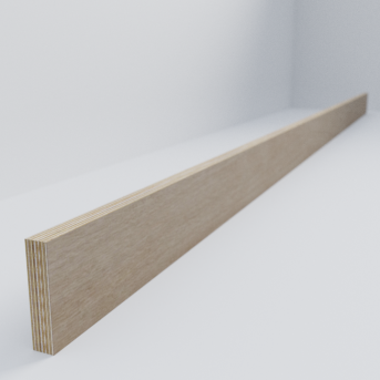 Birch Ply Scandi Plinth